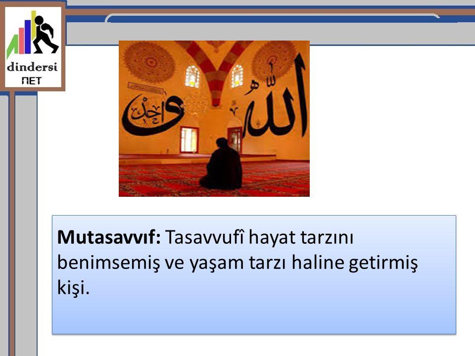 İslam ın ilk dönemlerinde tasavvufi yorumlar yoktu.