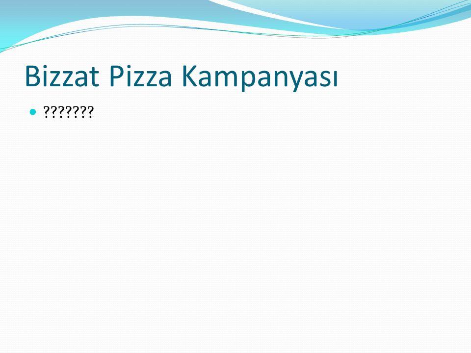 Bizzat Pizza Kampanyası ???????