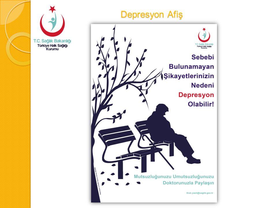 Depresyon Afiş Depresyon Afiş