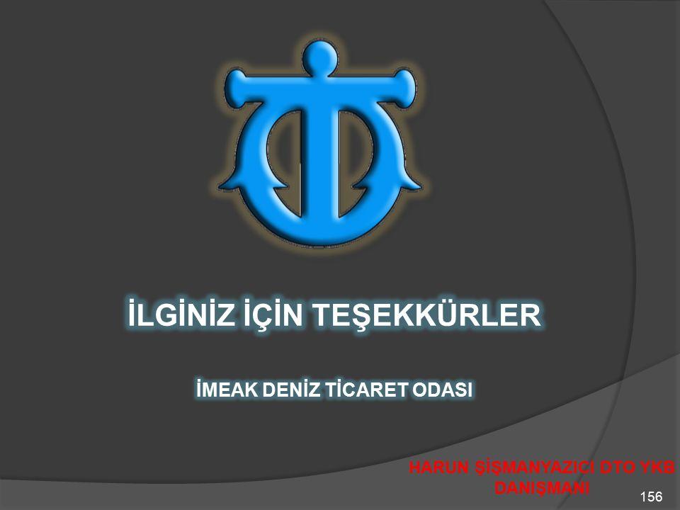 156 HARUN ŞİŞMANYAZICI DTO YKB DANIŞMANI