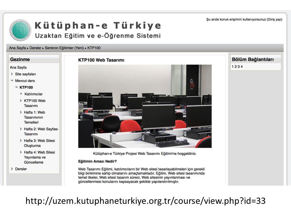 http://uzem.kutuphaneturkiye.org.tr/course/view.php?id=33
