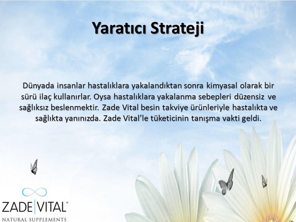 Medya Stratejisi Zade Vital markasının medya planlama sürecinde ürünün hedef kitlesini, kendisinin ve çevresindekilerin sağlığına önem veren ebeveynler olarak belirlemiştik.