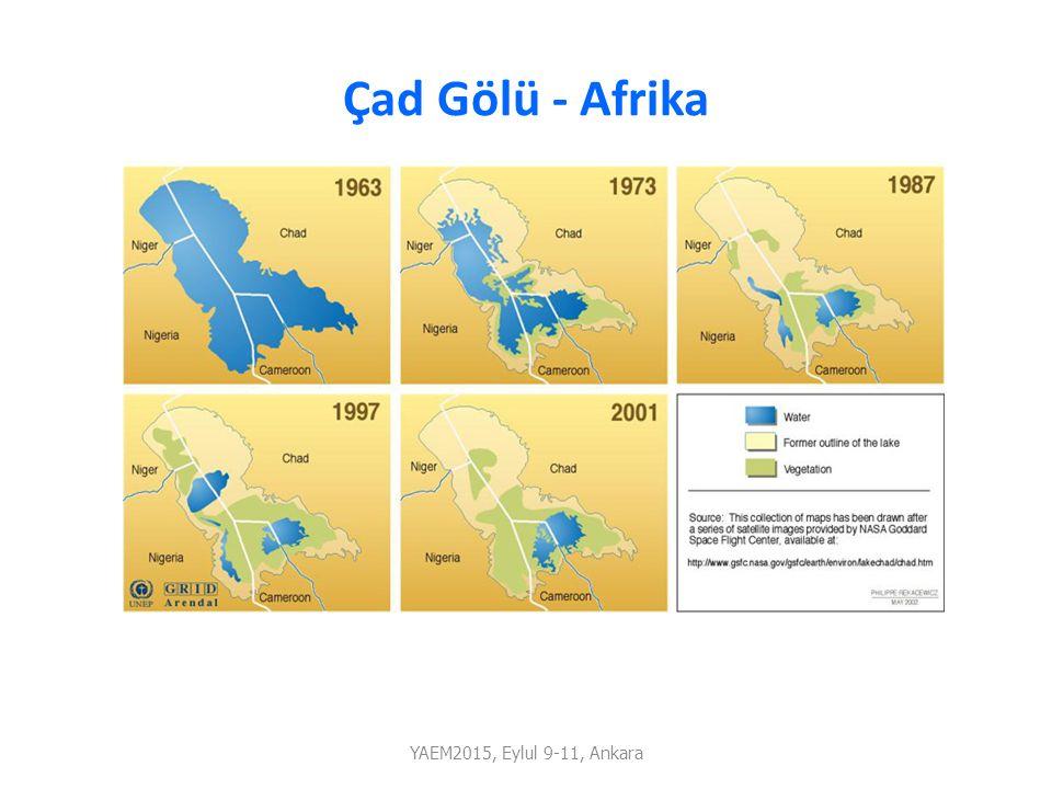 Çad Gölü - Afrika