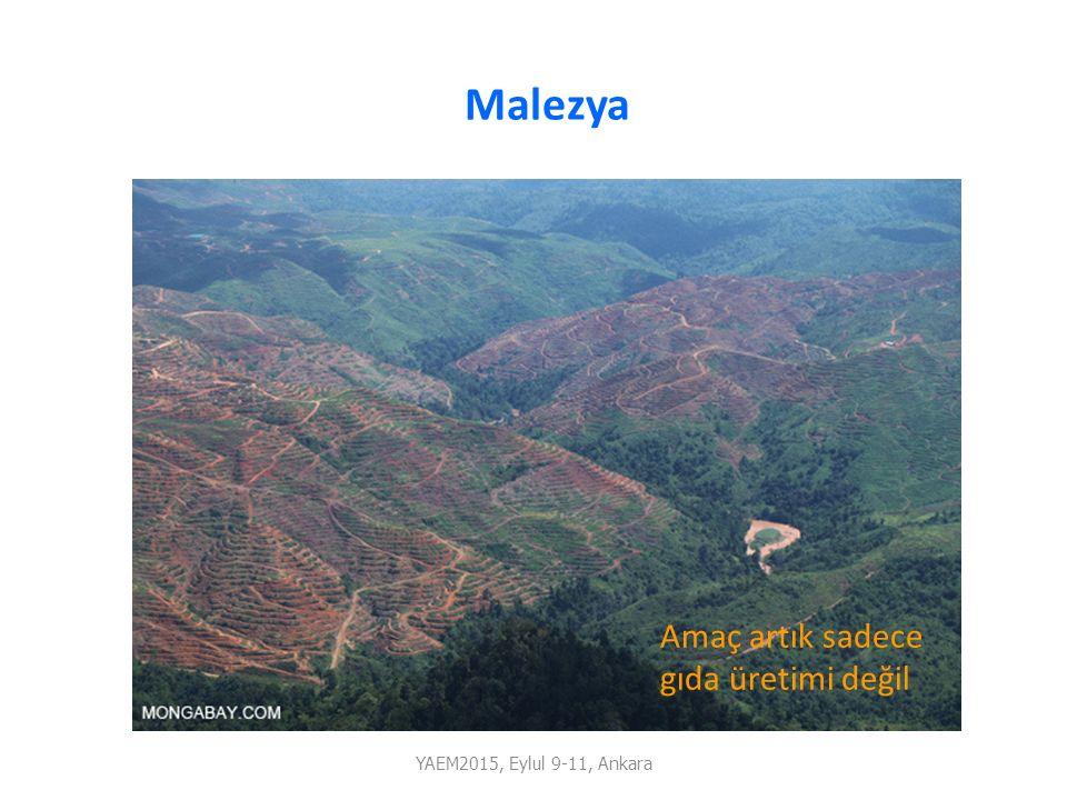 YAEM2015, Eylul 9-11, Ankara Malezya Amaç artık sadece gıda üretimi değil