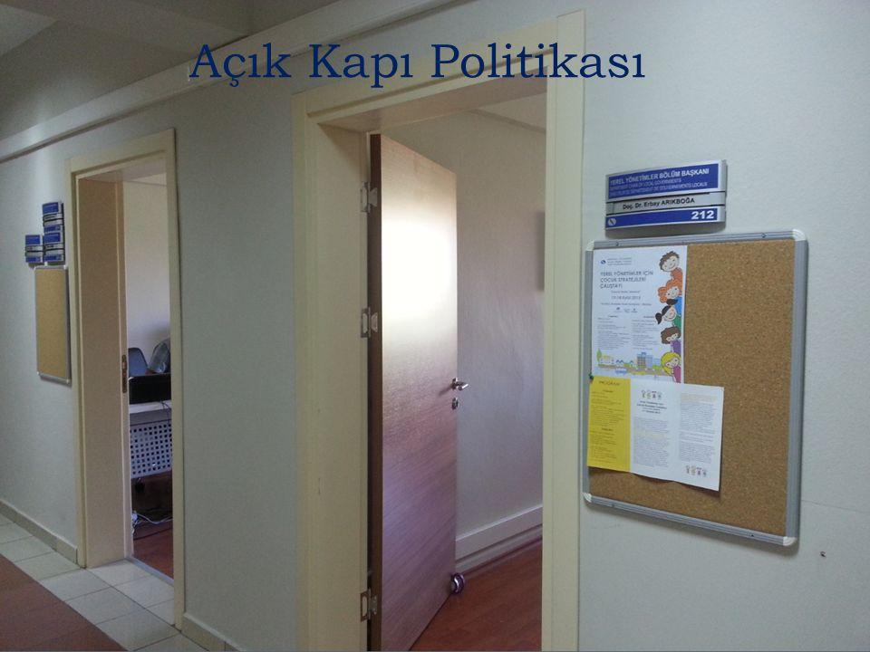 Açık Kapı Politikası