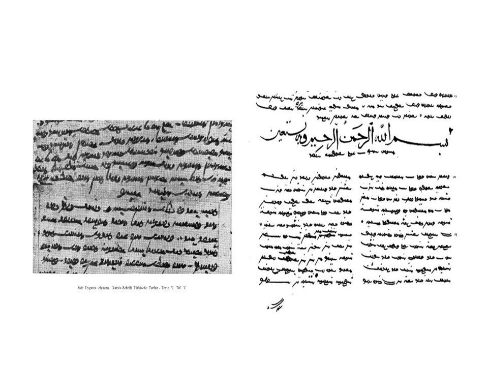 Uygur alfabesi; Hitaylar, Moğollar, Mançular, Kalmuklar, Buryatlar gibi halkların alfabelerine de kaynaklık etmiştir.