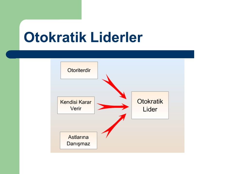 Otokratik Liderler