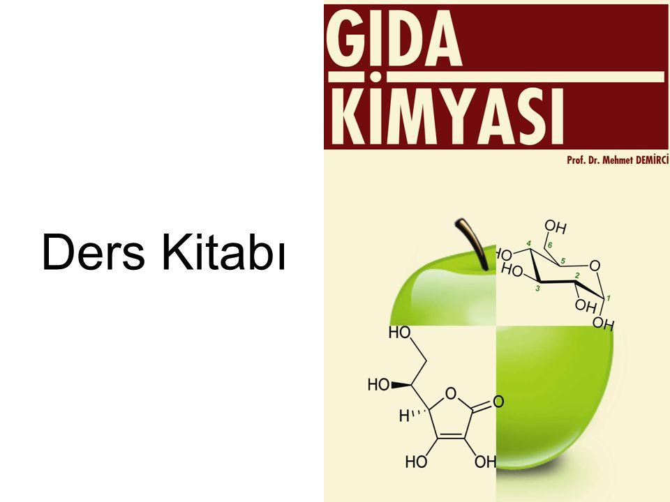 Konular Karbohidratlar Lipidler Proteinler Su Mineral Maddeler Vitaminler Enzimler Alkoller Alkaloidler Gıda Muhafaza Yönt.