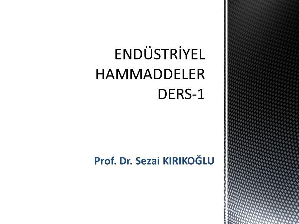 Prof. Dr. Sezai KIRIKOĞLU