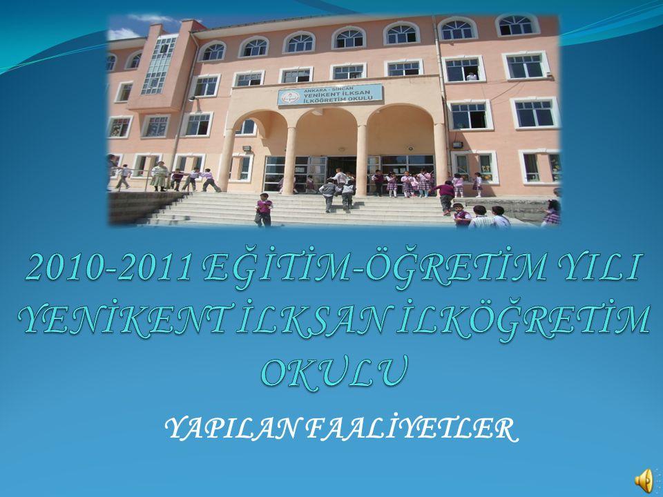 * 29 Ekim Cumhuriyet Bayramı'nı coşku ile kutladık. BELİRLİ GÜN VE HAFTALAR