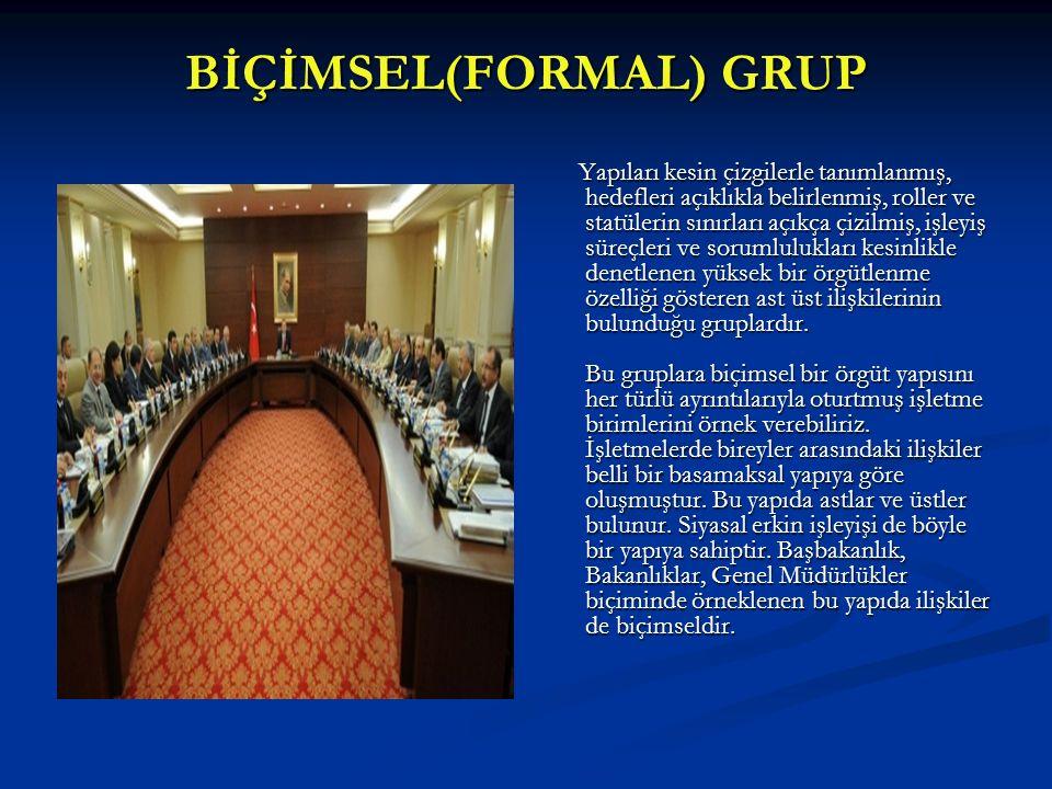 GRUP ÖZELLİĞİ 2 : NORMLAR  Normlar,üyeler tarafından ortaklaşa paylaşılan,grup içinde gerçekleştirilmesi beklenen davranışlardır.