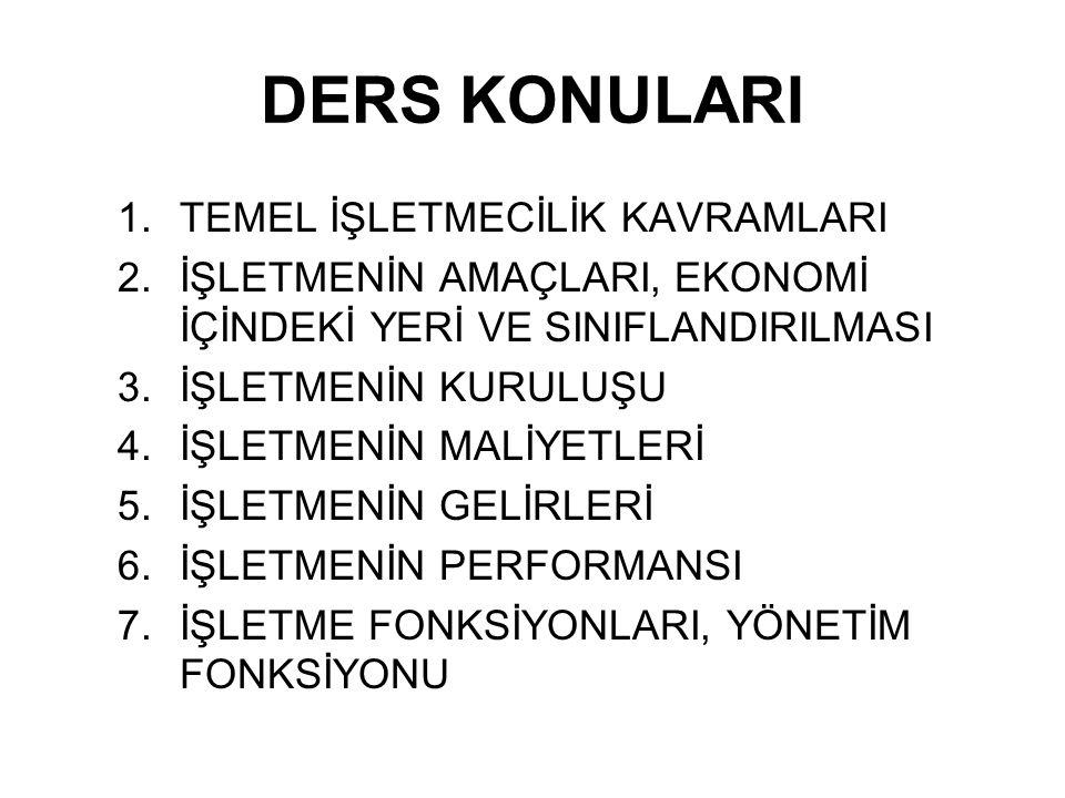İNSAN İHTİYAÇLARININ HEPSİ MALLARLA KARŞILANAMAZ.