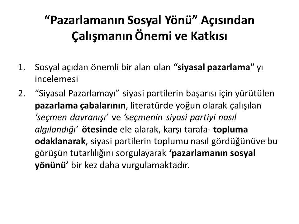 AKP' ye ilişkin değerlendirme AKP hem genel başkanının hem de belediye başkan adaylarının çoğunlukla genel parti sloganlarına yer verdiği görülmektedir.