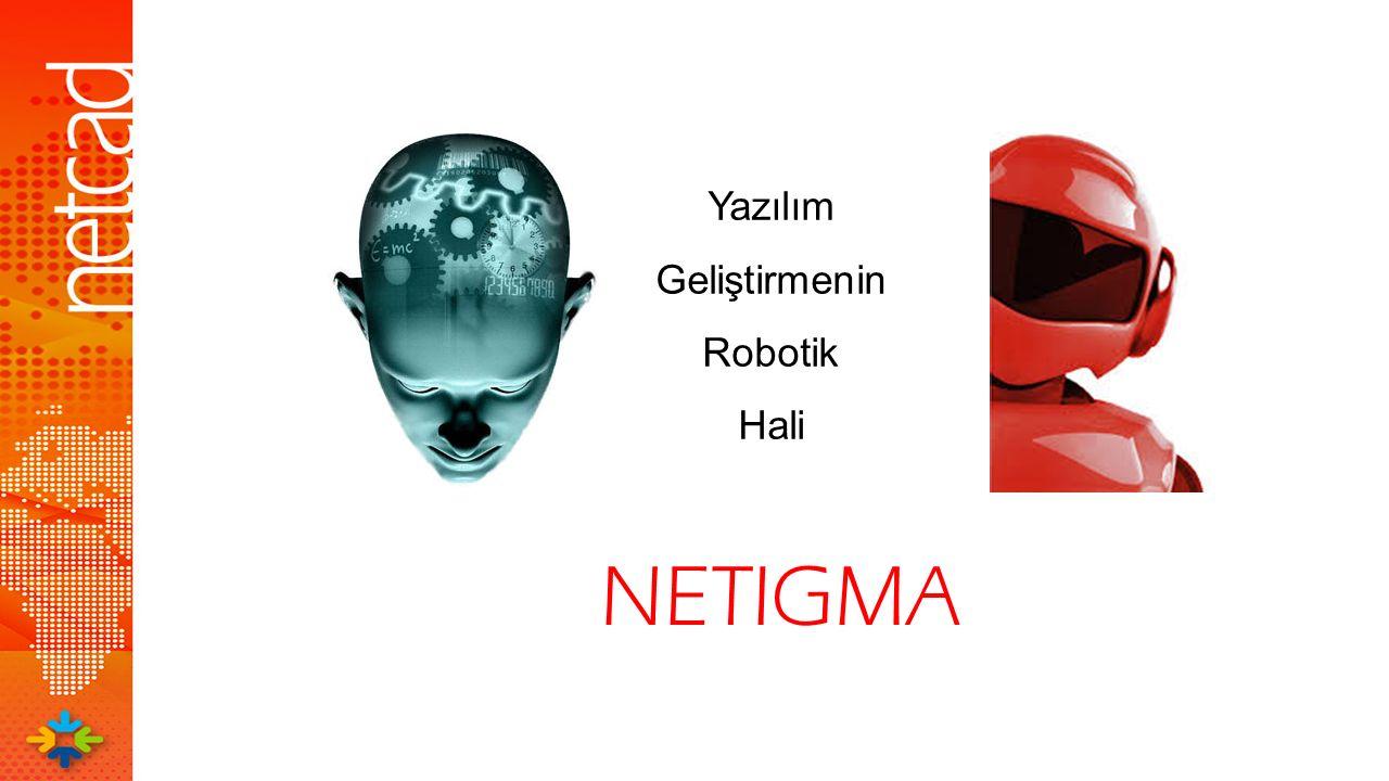 NETIGMA Yazılım Geliştirmenin Robotik Hali