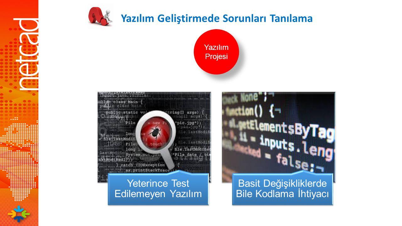 Yeterince Test Edilemeyen Yazılım Basit Değişikliklerde Bile Kodlama İhtiyacı Yazılım Geliştirmede Sorunları Tanılama Yazılım Projesi