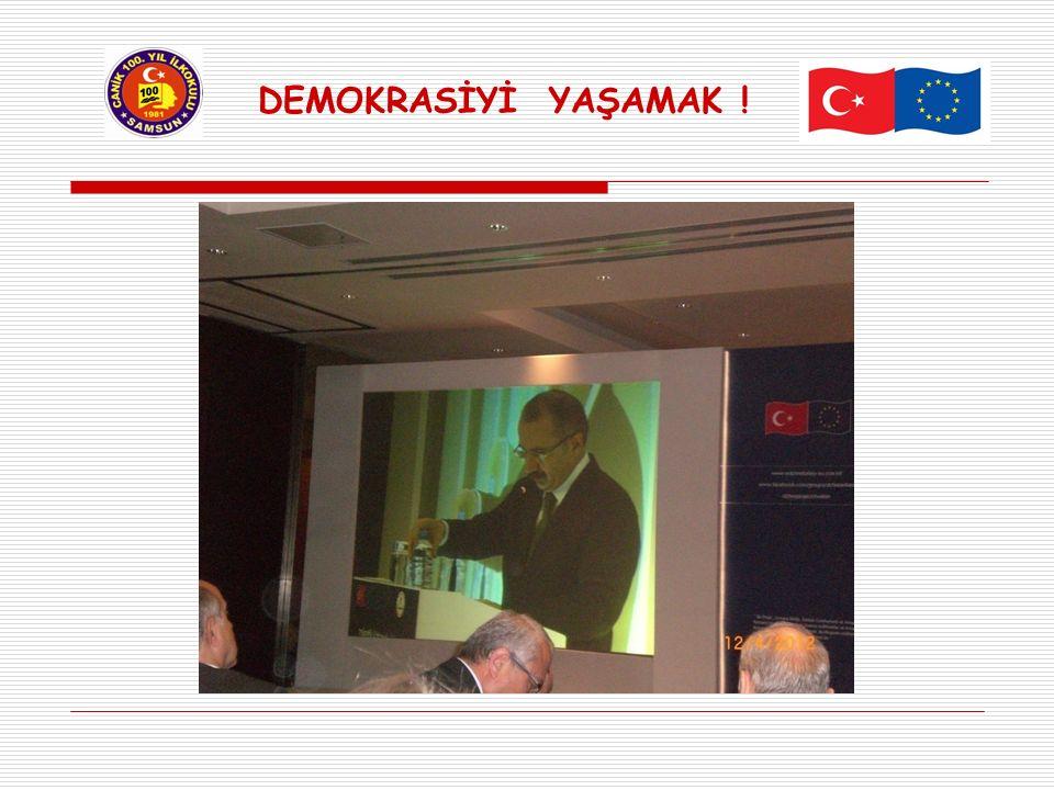 PİLOT İLLER Projede İstanbul, Edirne, Sakarya, Manisa, Konya, Mersin, Yozgat, Elazığ ve Mardin 'in de yer aldığı 10 pilot il arasında ilimiz SAMSUN ' da yer almaktadır.