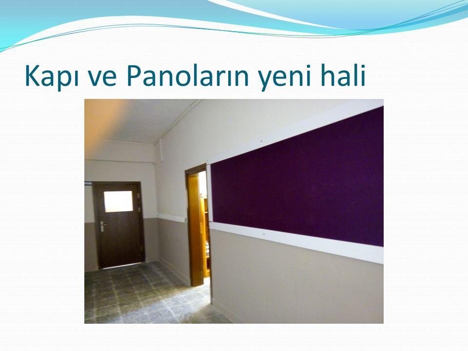 Kapı ve Panoların yeni hali