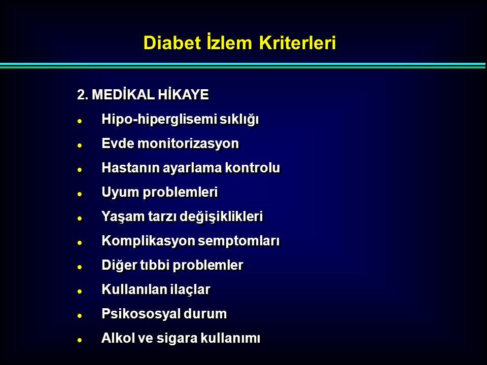 Gençlerde Erişkin Başlangıçlı DM ( MODY ) Başlangıç yaşı erken  Başlangıç yaşı erken  Nonobez  Semptomlar ( + ), Ketonuri yok  Genetik Çalışma ( ?