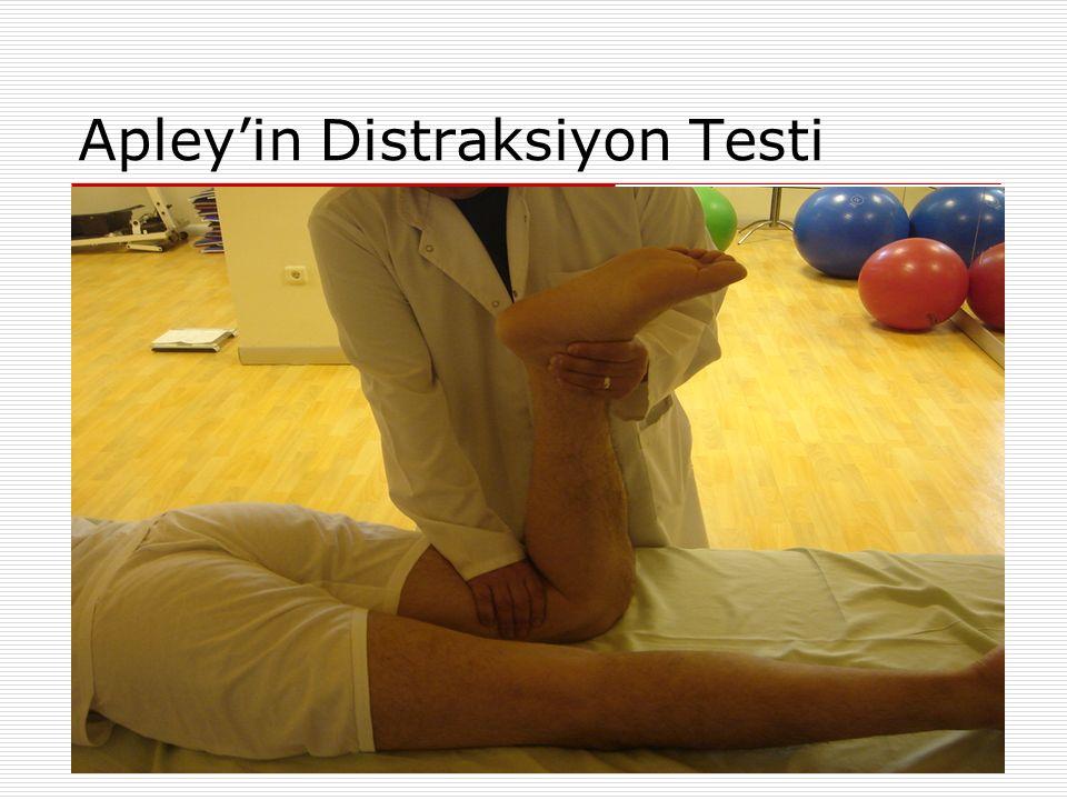 Apley'in Distraksiyon Testi