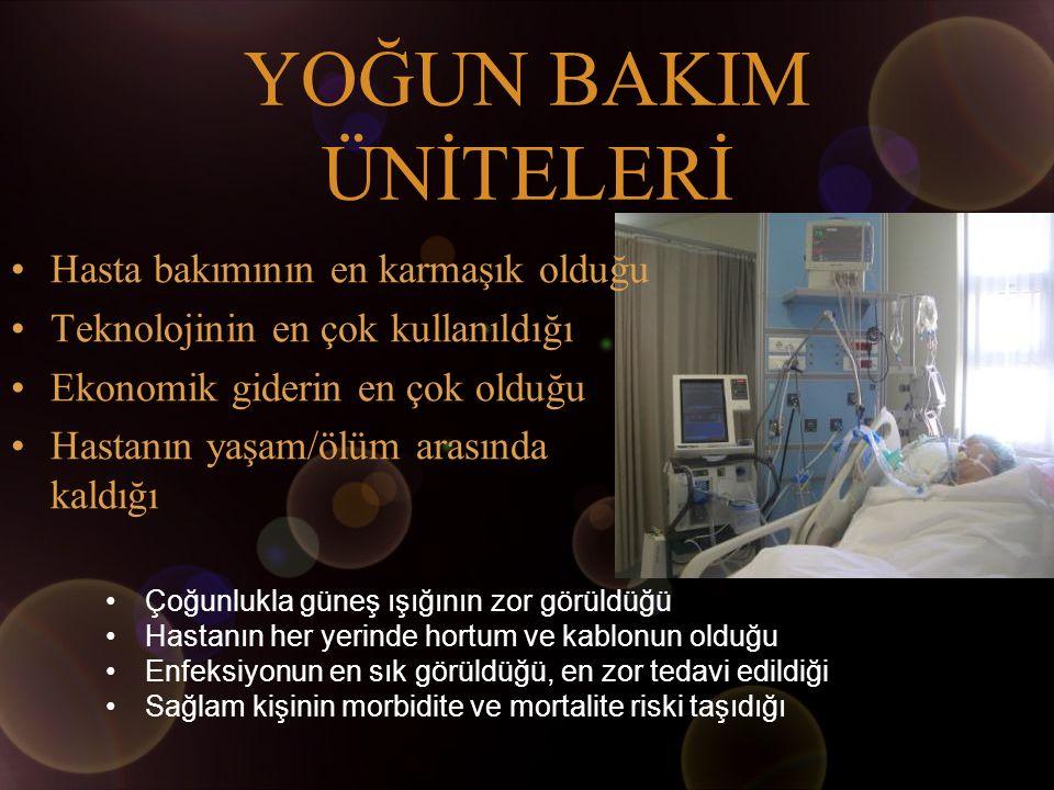 sorunlar ORGAN YETMEZLİKLERİ Solunum sistemi yetmezlikleri Kardiovasküler yetmezlikler veya sorunlar Böbrek yetmezlikleri Diğer