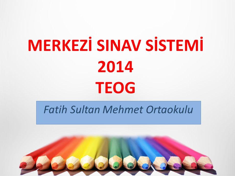 İLK SINAV KASIM 2014 SON HAFTASI YAPILACAK.Fen ve Teknoloji,Türkçe;Matematik,İngilizce 2.