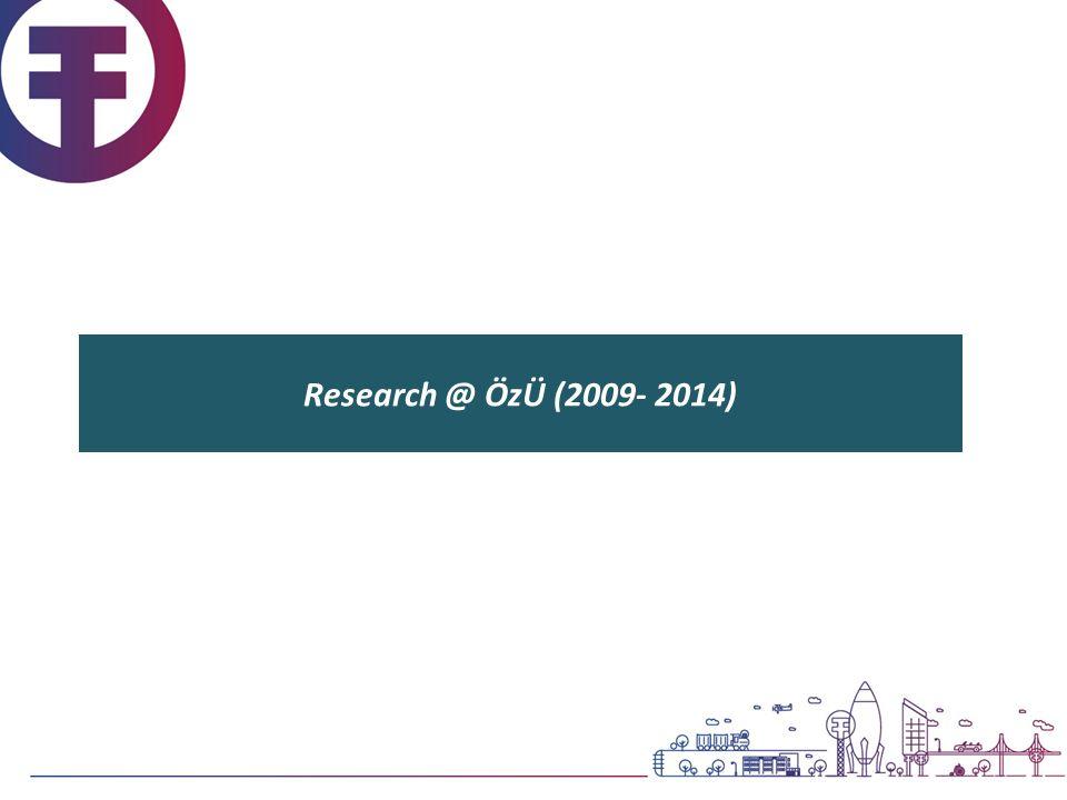 Research @ ÖzÜ (2009- 2014)