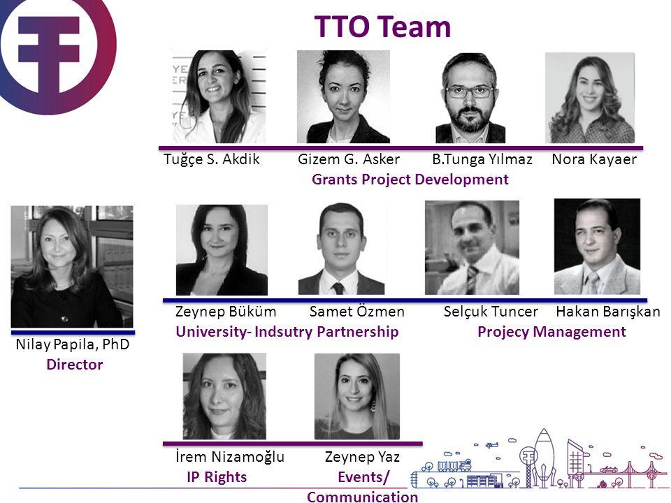 TTO Team Tuğçe S. AkdikGizem G.