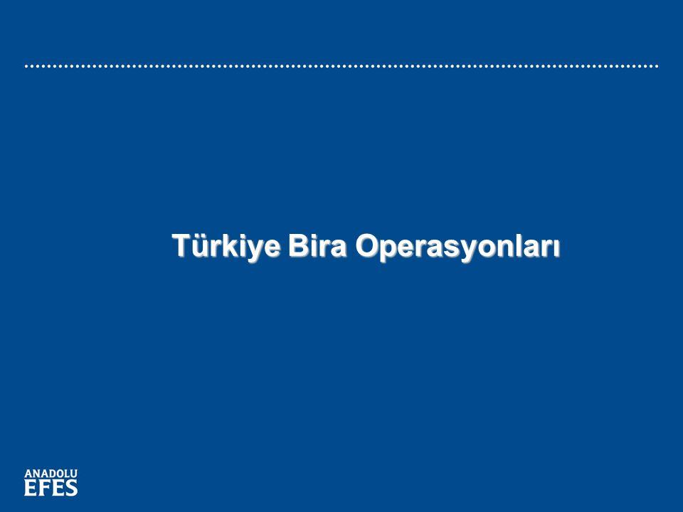 9 Türkiye Bira Operasyonları