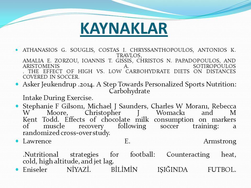 KAYNAKLAR ATHANASIOS G. SOUGLIS, COSTAS I. CHRYSSANTHOPOULOS, ANTONIOS K. TRAVLOS, AMALIA E. ZORZOU, IOANNIS T. GISSIS, CHRISTOS N. PAPADOPOULOS, AND