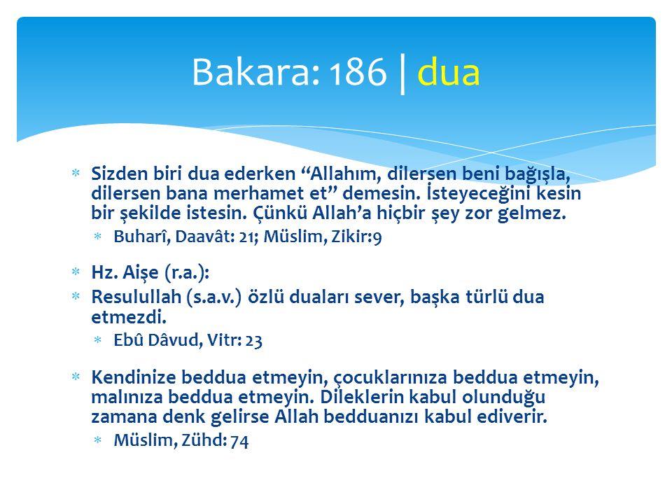  Resulullah (s.a.v.), namazdan sonra Allah Teâlâya hamd edip Peygambere salât ü selâm getirmeden dua eden birisini işitmişti.