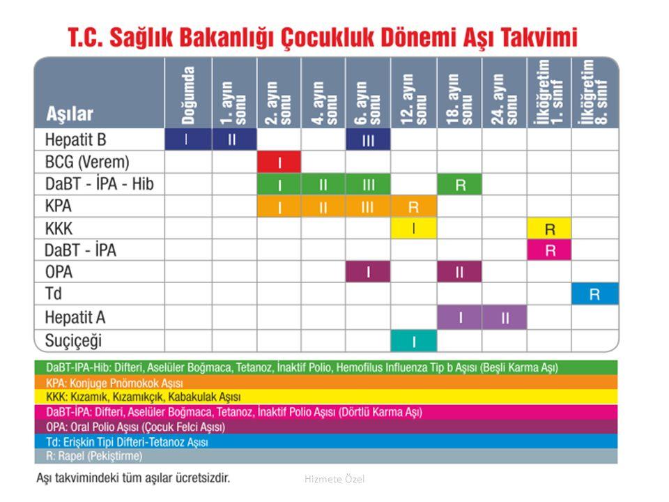 T.C. Sağlık Bakanlığı Türkiye Halk Sağlığı Kurumu Hizmete Özel
