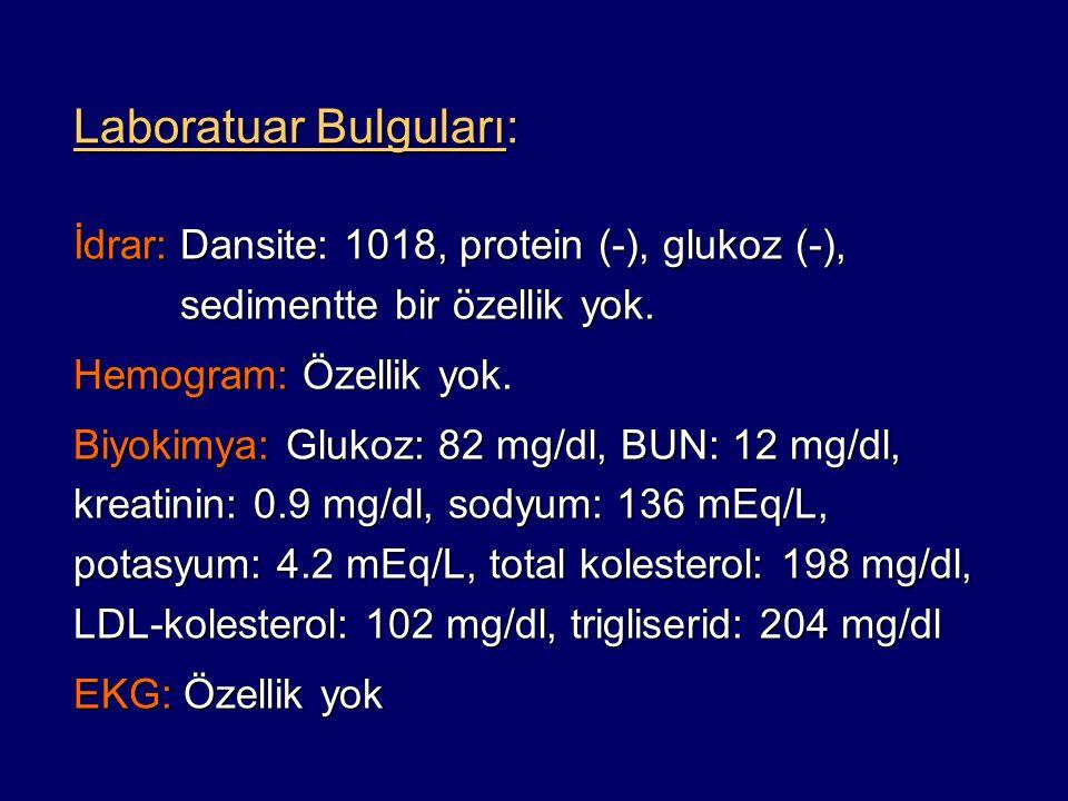  Bu hasta, 2007 Avrupa Hipertansiyon Kılavuzu'na göre hangi kardiyovasküler risk sınıfındadır.