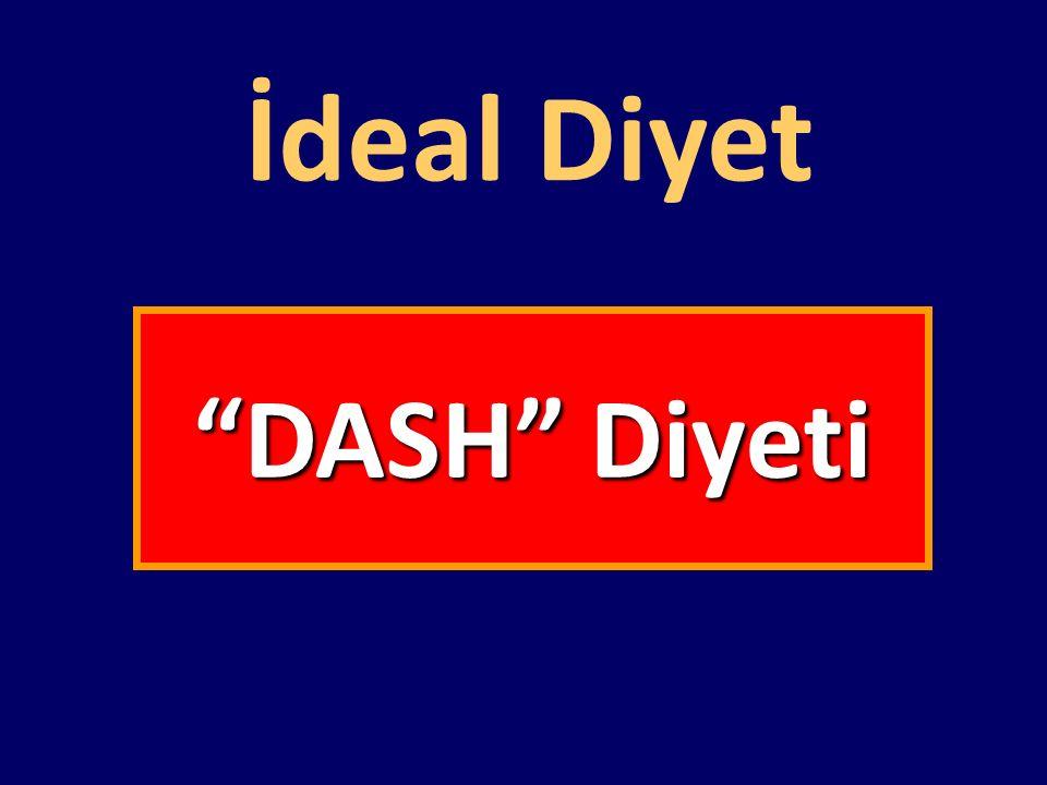 DASH Çalışması (Dietary Approaches to Stop Hypertension)