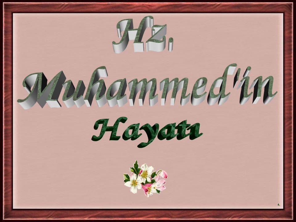 DAVRANIŞ 4 Tüm Müslümanlar mallarını ve yakınlarını Mekke'de bırakarak gizlice Medine'ye göç ettiler ve Mekke'de Hz.Muhammed birkaç yakınıyla beraber kalmıştır.