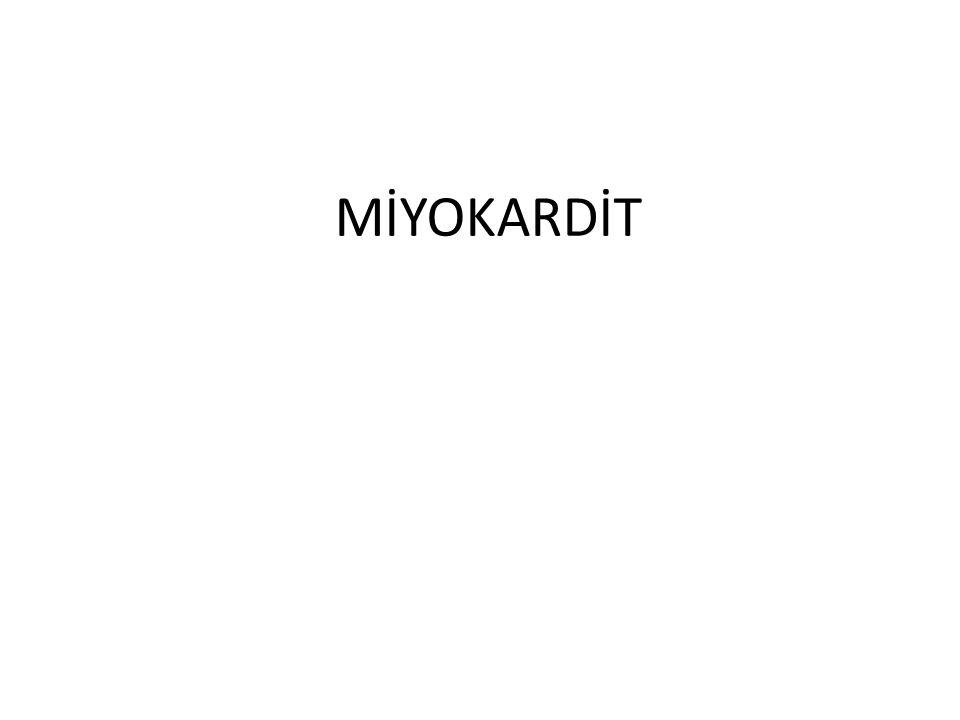 MİYOKARDİT