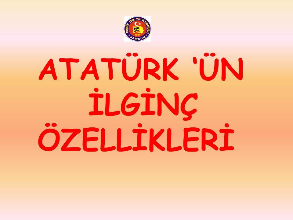 Mustafa Kemal okul yılları boyunca çok çalışkan başarılı bir öğrenciydi. Çok kitap okur, ülkesi ile ilgili her konuya ilgi duyar ve bilgi sahibi olurd