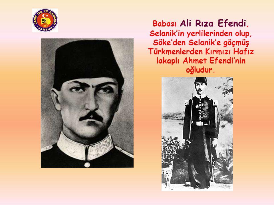 Atatürk, 19 Mayıs 1881 yılında o yıllarda Osmanlı Devleti'ne bağlı olan, şu anda Yunanistan'a bağlı Selanik kentinde bu evde doğdu.