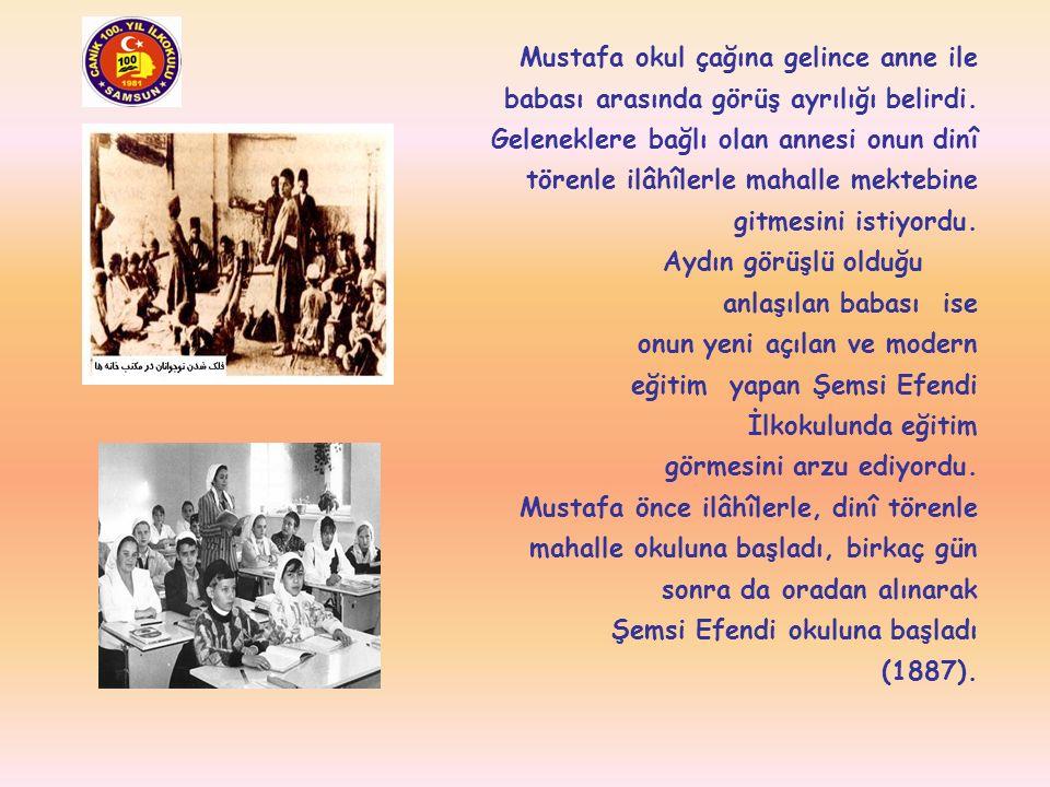 Mustafa Kemal Atatürk'ün F FF Fatma, Ömer, Ahmet ve Naciye adlı kardeşleri küçük yaşlarda ölmüştür. Kendisinden altı yaş küçük kız kardeşi M MM Makbul