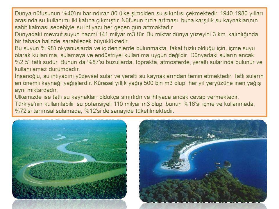Suyun Şaşırtıcı Özellikleri Suyun özellikle ısıyla ilgili (termal) özellikleri dünya üzerindeki canlı yaşamının sürekliliğinde büyük rol oynar.