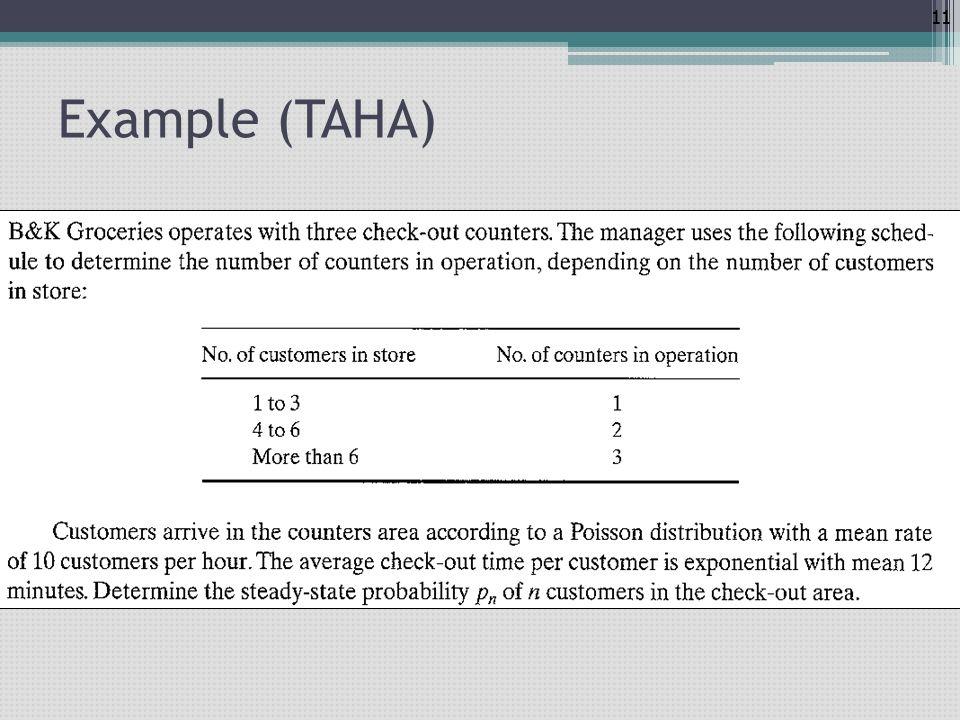 11 Example (TAHA)