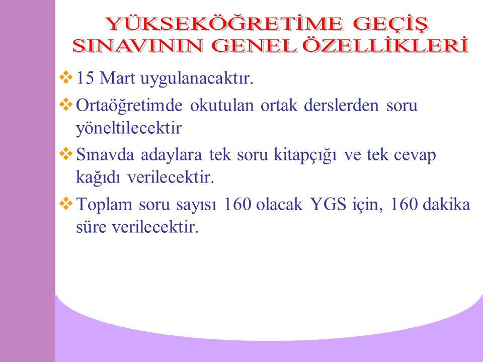 SOSYAL BİLİMLER SINAVI (LYS-4) DERSLERSORU SAYISISINAV SÜRESİ TARİH4465 Dakika COĞRAFYA-21425 Dakika DİN KÜLTÜRÜ AHL.8 45 Dakika FELSEFE GRUBU24 PSİKOLOJİ8 SOSYOLOJİ8 MANTIK8 TOPLAM90135 Dakika