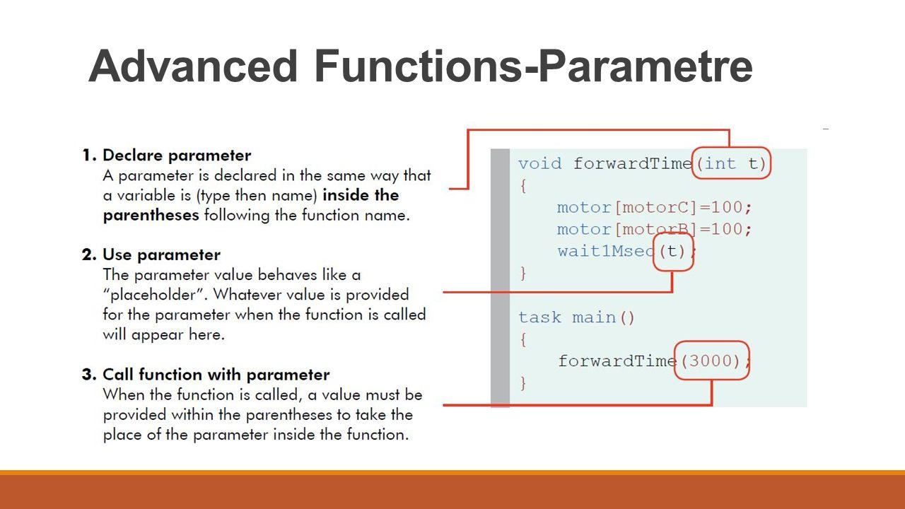 Advanced Functions-Return Value