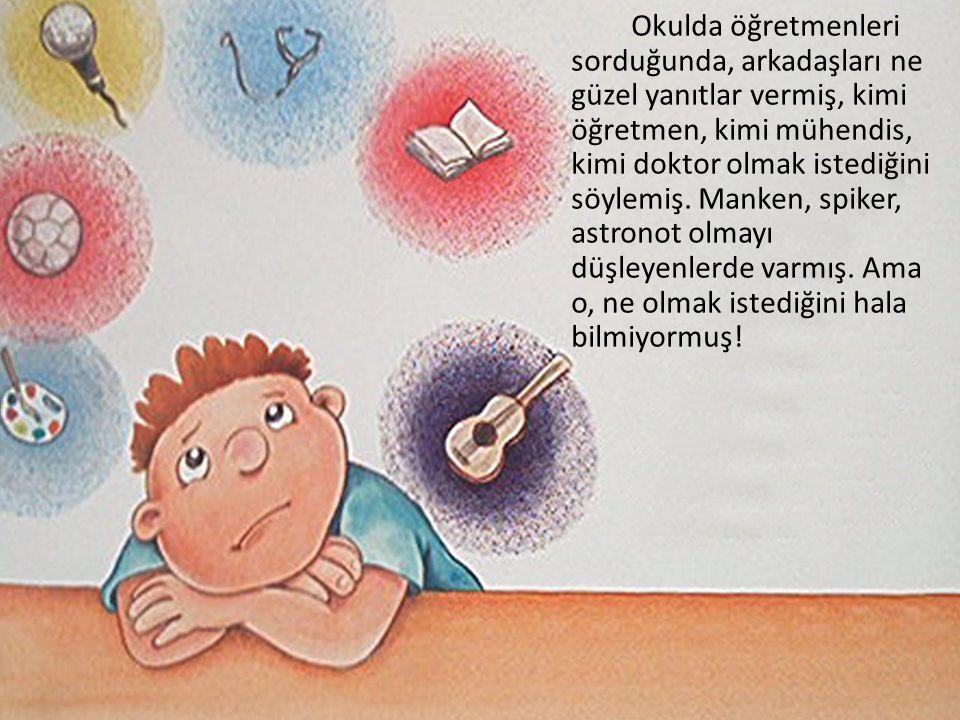 Bir gün sınıfta öğretmeni, Atatürk'ü anlatmış.