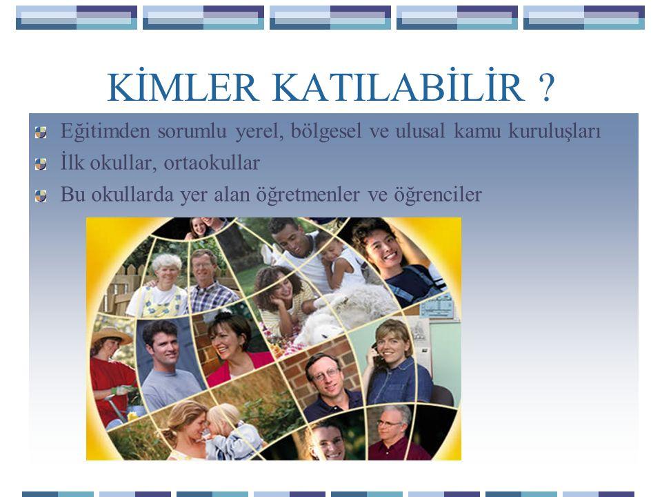 KATILIMCI ÜLKELER Hayatboyu Öğrenme Programı'na AB üyesi 27 ülke ile, İzlanda, Norveç, Lihtenştayn ve Türkiye katılabilmektedir.