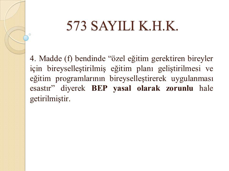 573 SAYILI K.H.K.4.
