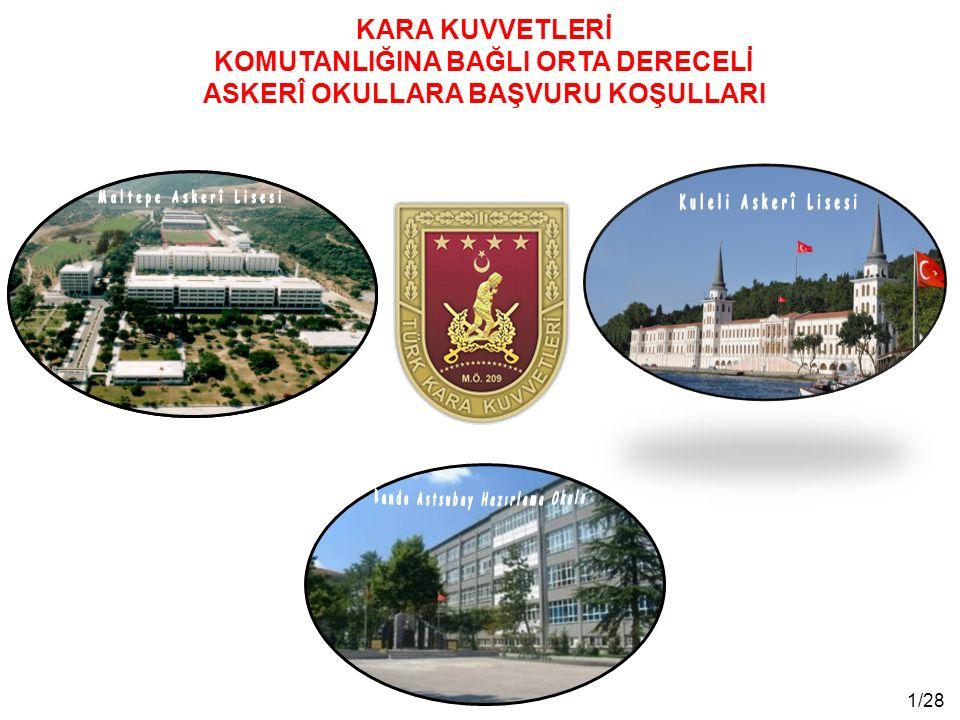 12/28 Yazılı (test) sınav; 48 il merkezi ve Kuzey Kıbrıs Türk Cumhuriyeti'nde 19 Nisan 2015 tarihinde ÖSYM Başkanlığı tarafından yapılacaktır.