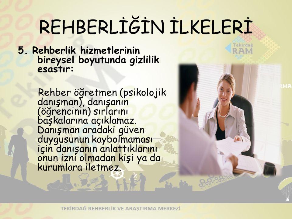 REHBERLİĞİN İLKELERİ 5.