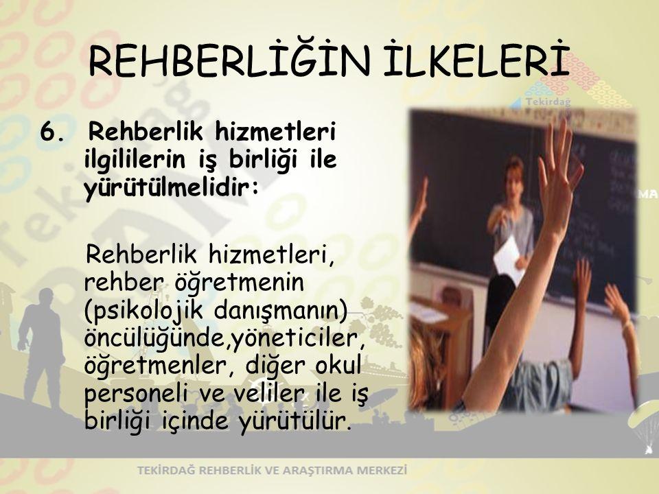 REHBERLİĞİN İLKELERİ 6.