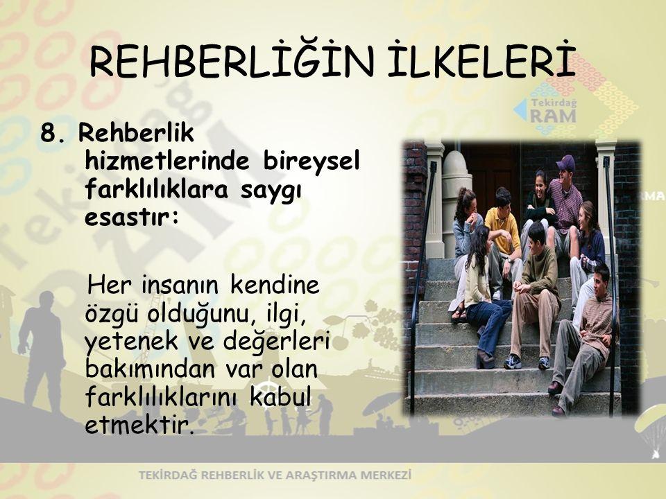 REHBERLİĞİN İLKELERİ 8.