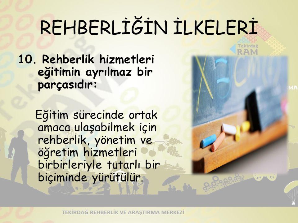 REHBERLİĞİN İLKELERİ 10.